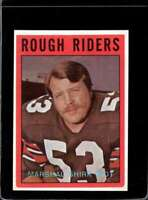 1972 O-PEE-CHEE CFL #72 MARSHALL SHIRK NM  *X2135