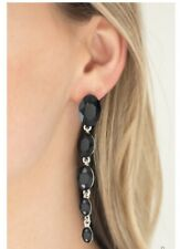 Red Carpet Radiance Black Earring By: Paparazzi