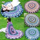 Boho Tapestry Beach Throw Towel Mandala Round Indian Hippie Mat Picnic Blanket