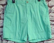 Vineyeard Vines Men's Summer Green Cotton Flat Front Casual Shorts 32