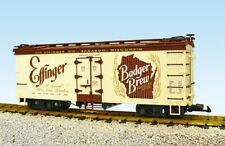 Usa Trains G Scale U.S. Reefer Car R16416 Badger Brew Cream/Brown