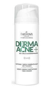 Farmona Professional  DERMA ACNE Moisturising Mattifying Face Cream AHA 150ml