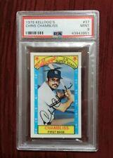 CHRIS CHAMBLISS - 1979 Kellogg's #37 New York YANKEES PSA 9 MINT Baseball Card
