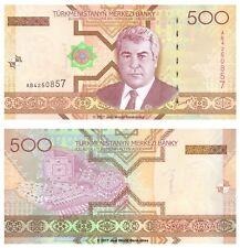 Turkmenistan 500 Manat 2005 P-19 Banknotes UNC