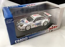 EBBRO PORSCHE 911 GT3 RSR LE MANS 2004 2ND PLACE 1/43 SCALE NEW n/BBR AMR
