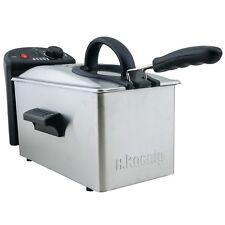 H.Koenig DFX300 Friggitrice in acciaio inox 3l capacità 2100W