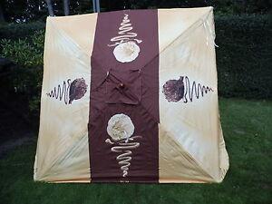 Langnese Carte Dor  Sonnenschirm ca. 200x200 cm Holz Neu siehe auch Fotos