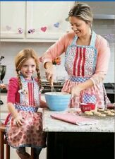 MATILDA JANE HEARTS AND CRAFTS MOMMY & ME APRON SET LOT NEW NWT CAMP In Bag