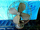 ANTIQUE+EMERSON+PANCAKE+MOTOR+ELECTRIC+FAN+%28MILITARY+MARKED%29