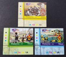 2008 Malaysia Scouts Association Centenary Celebration 3v Stamps Set BL corner