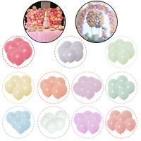 "Macaron Candy Pastel Latex Balloons 10"" Wedding Party Decor Birthday 100pcs"