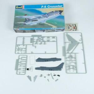 Revell F-8 Crusader US Navy Jet Aircraft 1/100 Scale Plastic Model Kit 4070