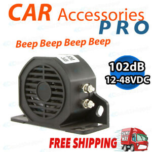 102Db Universal Reverse Buzzer Beeper Backup for Truck Warning Alarm AU