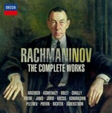 Rachmaninov: The Complete Works (CD, Sep-2014, 32 Discs, Decca) NEW