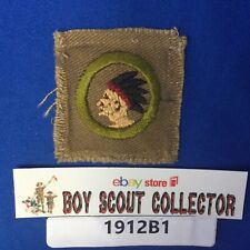 Boy Scout Vintage Pathfinding Square Merit Badge Cir: 1920's-1930's