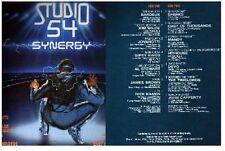 DISCO 33 GIRI  Various- Studio 54 - Synergy