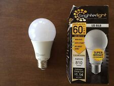 Brighter Light 9.5W  810 lumen  Dimmable A19 LED light bulb  Warm White