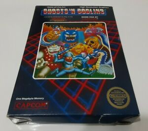 Ghosts 'n Goblins - Nintendo Entertainment System NES Game in Box NO MANUAL