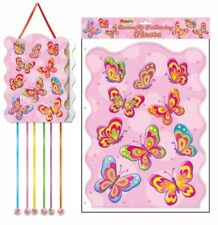 Butterfly Pullstring Pinata - 40cm x 30cm - Loot/Party Game Toy Kids Hang