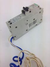 SCHNEIDERC60H RCBO C10 R301 POLE RCD/MCB 10A 240VAC