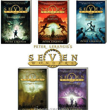Seven Wonders 1-5 Colossus Rises,Babylon,Tomb Shadows Peter Lerangis (Paperback)