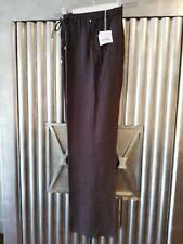PERSONA by MARINA RINALDI UK 18 (MR 23) Dark Brown Linen Trousers