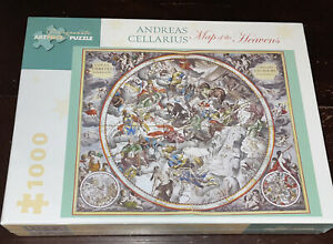 NEW SEALED Map of the Heavens 1000 Piece Jigsaw Puzzle Andreas Cellarius Artwork