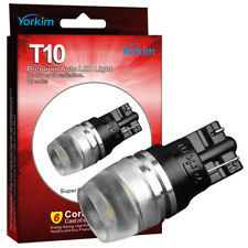 10pcs Yorkim T10 Wedge 194 LED Light Bulbs 2825 192 168 High Power Super White