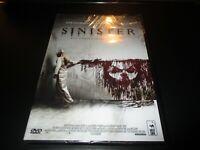 "DVD NEUF ""SINISTER"" Ethan HAWKE / film d'horreur de Scott DERRICKSON"