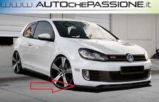 Spoiler/Splitter anteriore lama Volkswagen Golf 6 GTI nuova ABS lama lip