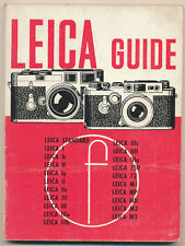 """W.D.Emanuel """"Leica Guide"""" 1965 in inglese Ed.The Focal Press E615"""