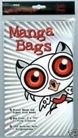 """(100) Ultra Pro Readers Digest / Manga Bags 6"""" x 7 5/8"""" 100% Archival Safe Poly"""