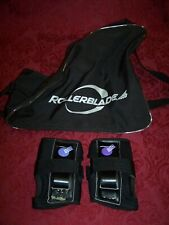 Vintage 90's Rollerblade Carry Case / California Pro Wrist Guard 2 Item Package