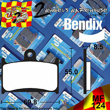 BENDIX 124-MF PERFORMANCE SINTERED FRONT BRAKE PADS TRIUMPH 1050SPRINT ST 2008