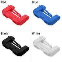Universal Anti-Scratch Car Seat Belt Buckle Silicone Cover Clip Cars Accessories