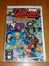 QUASAR - Vol 1 - No 27 - Date 10/1991 - MARVIL Comics (NO Bar Code Cover)