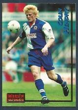 MERLIN ULTIMATE 1995-96-PREMIER LEAGUE- #032-BLACKBURN-MANCHESTER C-COLIN HENDRY