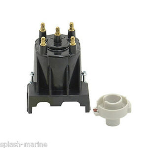 Genuine Mercruiser 3.0L 4Cyl Delco EST Ignition Distributor Cap & Rotor 811635Q2