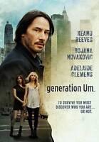 Generation Um... (DVD, 2013)  Keanu Reeves