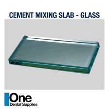 Dental Cement Mixing Slabs Glass 3 pcs