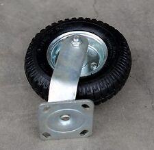 "2 x 8"" Pneumatic Castor Trolley Garden Cart Tool Box Wheel Swivel Caster"