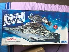 More details for star wars empire strikes back star destroyer ertl mpc