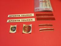 NOS Mint Schwinn Bicycle Sport Tourer Decals set of 8 decals
