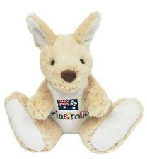 "20cm /8"" Plush Toy Animal Soft Kangaroo Gift Souvenir Australia Flag Soft Cuddly"