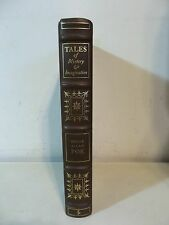 TALES OF MYSTERY & IMAGINATION POE EASTON PRESS LEATHER BOUND LIMITED BOOK 1975