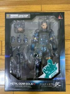 PLAY ARTS Kai Metal Gear Solid GROUND ZEROES SNAKE Metallic Figure SEALED F7644