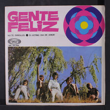 GENTE FELIZ: No Te Enrolles / El Ultimo Dia De Amor 45 (Spain, PS) Rock & Pop