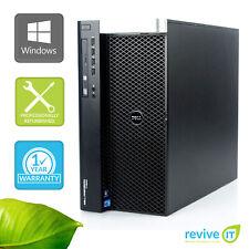 Dell Precision T7600 Workstation E5-2650 2.00GHz 8GB 256GB SSD Win 10 1 Yr Wty