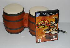 Donkey Konga (Nintendo GameCube, 2004) VERY GOOD CONDITION - INCLUDES BONGOS
