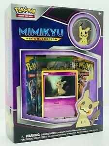 Pokemon!! Mimigma / Mimikyu Pin Collection Box! Englisch! Neu&Sealed!